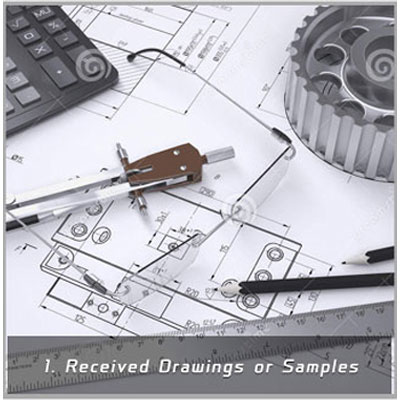 CNC Machining Components Production Flow Image 1