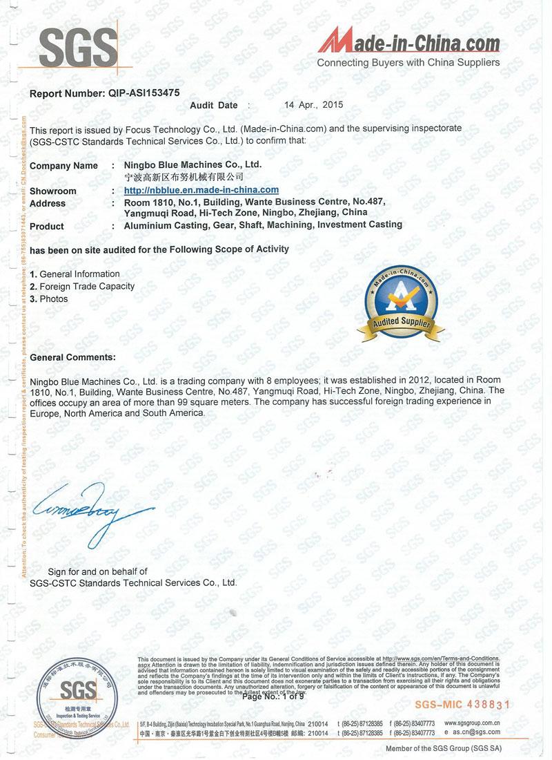 CNC Milling Services Cert 3