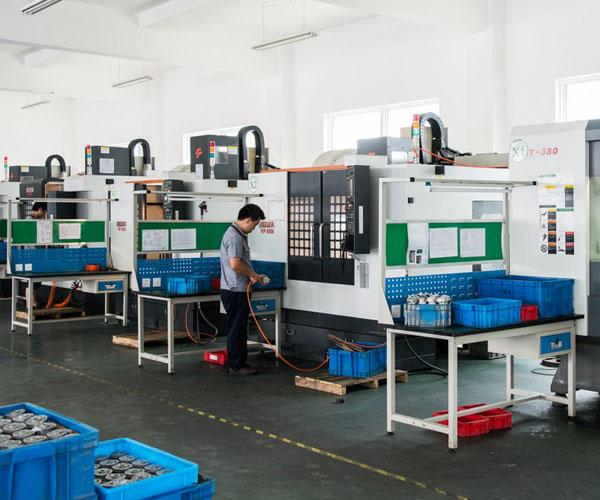 CNC Machined Parts Supplier Workshop Image 1