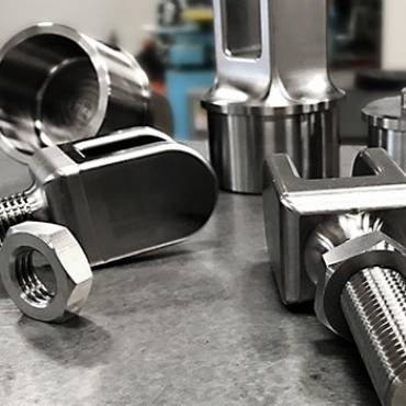 CNC Titanium Machining Image 2