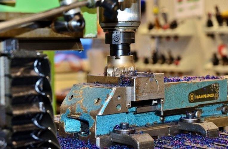 Fig 2 - Milling Machining