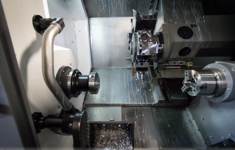 Fig1 - CNC 6-Axis Turning