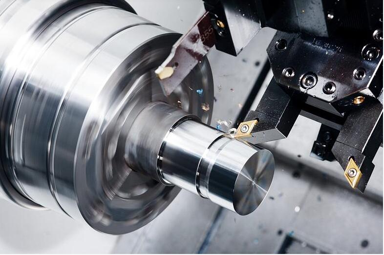 CNC Turning Closeup