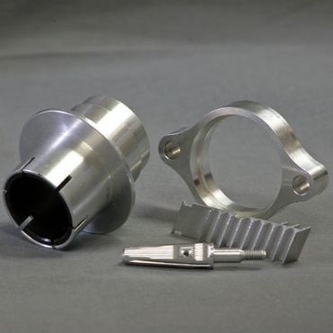 CNC Machined Aluminum Parts Image 1