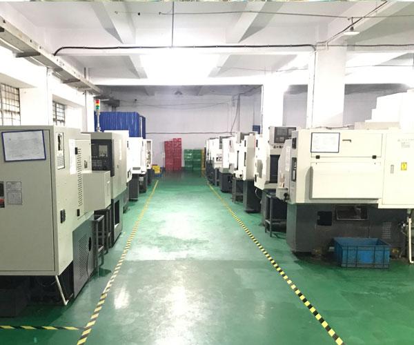CNC Machined Parts Supplier Workshop Image 2