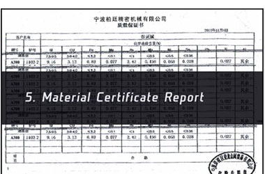 CNC Metal Parts Process Control Image 5