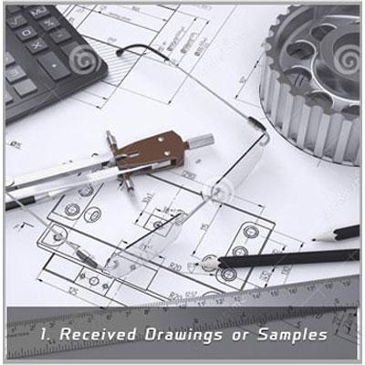 CNC Metal Parts Production Flow Image 1
