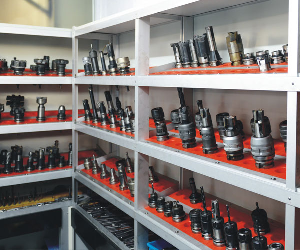 CNC Parts Manufacturing Workshop Image 1